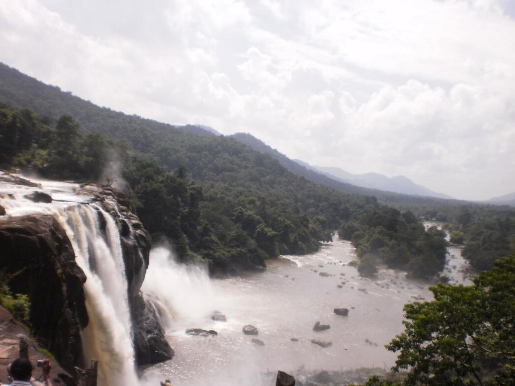 La cascade Athirapilly