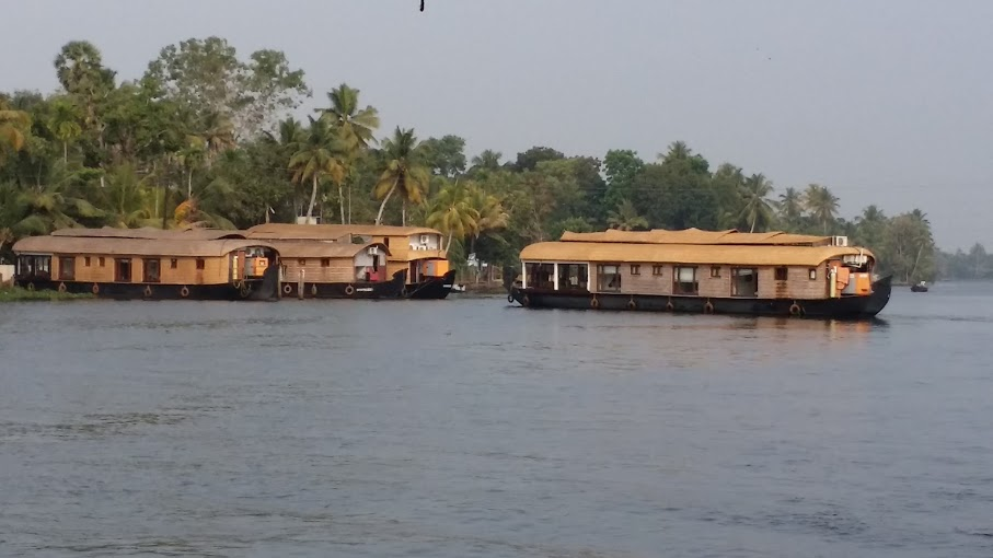 Les Backwaters du Kerala en péniche